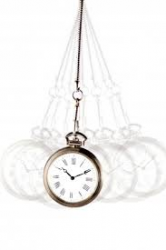 hypnosis clock concept